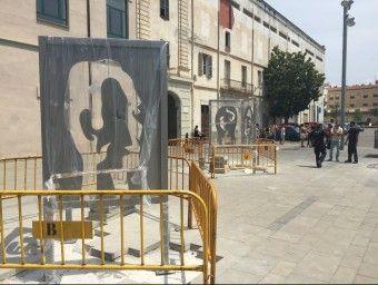 escultures de Domènec Fita Foto:J.N