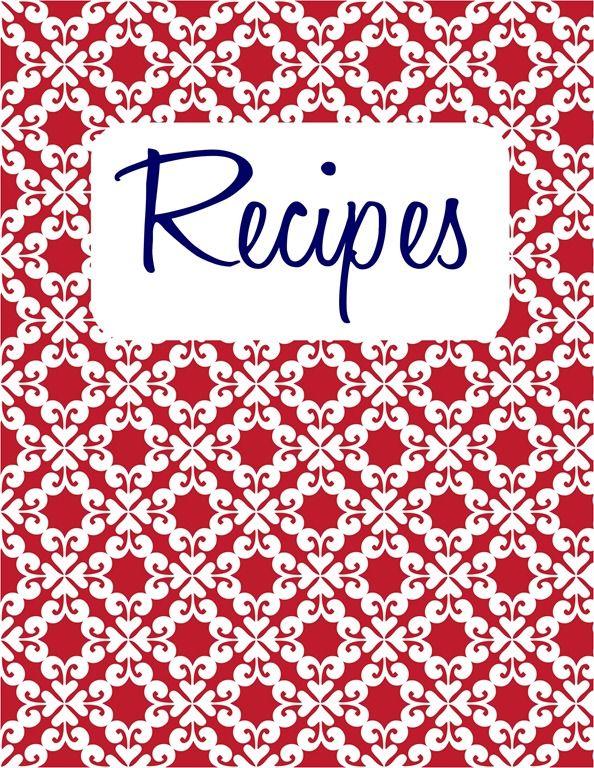40 recipe card template and free printables digital happiness