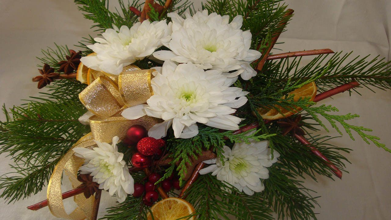 adventsstrau christmasdekoration selber machen floristik video anleitung deko ideen mit. Black Bedroom Furniture Sets. Home Design Ideas