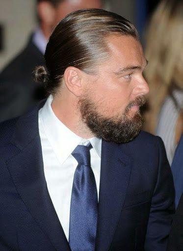 15 Bilder Von Leonardo Dicaprio Frisuren Promi Frisur Frisuren Stil Haar Leonardo Dicaprio Beard Leonardo Dicaprio Man Bun Top Knot
