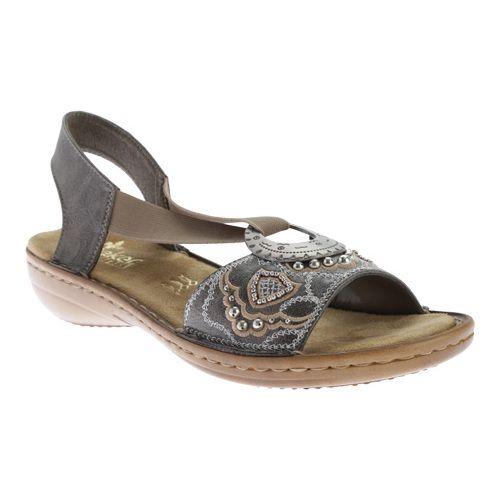 Women's Rieker Antistress Regina B9 Smoke Sandals