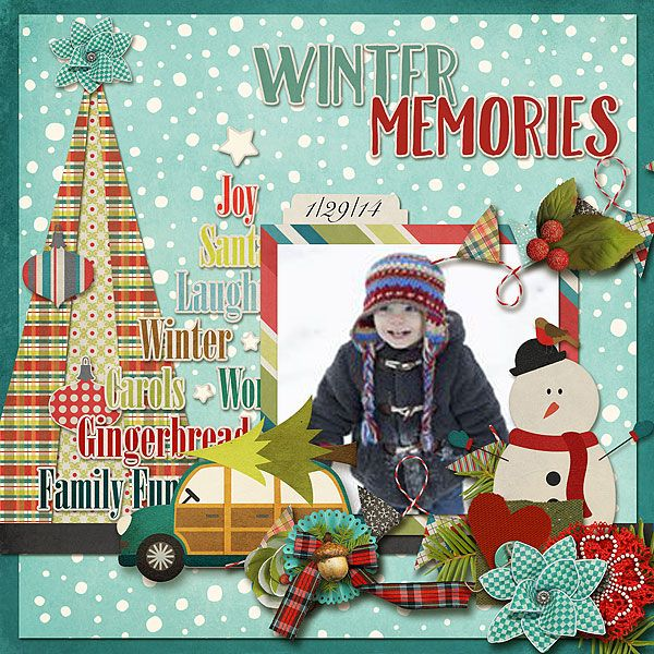 Winter Memories - Digi Winter Traditions