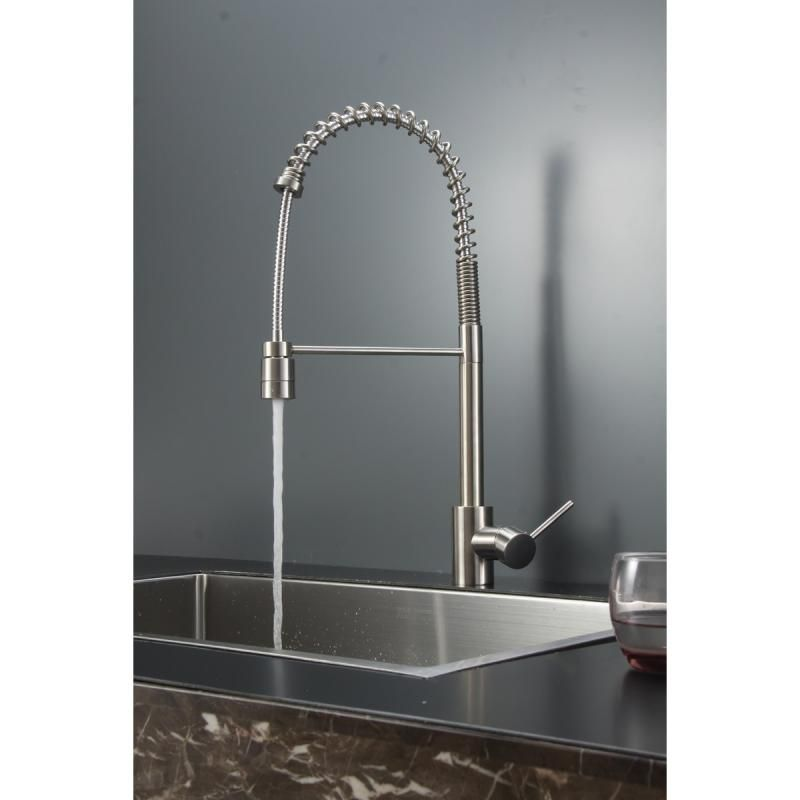 Commercial Style Kitchen Faucet | Kitchen faucets, Faucet and Commercial