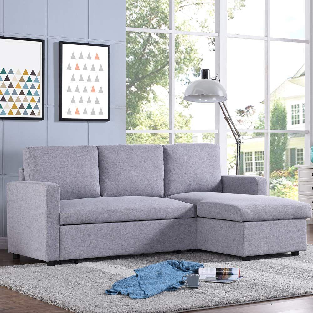 Merton 3 Seater Futon Sofa Bed With