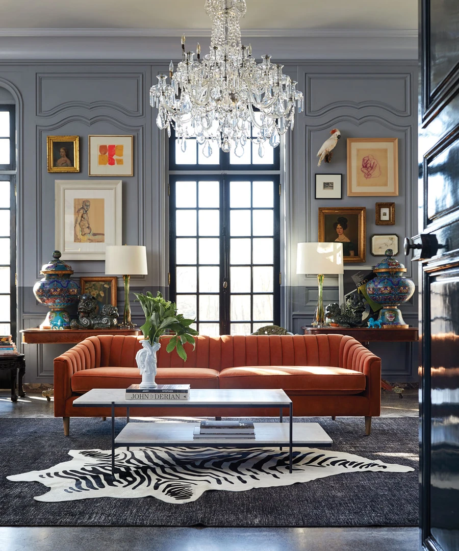 Hadley Sofa In 2021 Victorian Home Decor Victorian Living Room Modern Victorian Decor