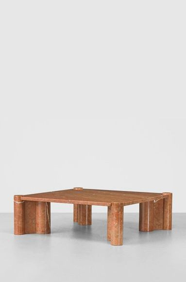 Gae Aulenti marble coffee table | Marble coffee table ...