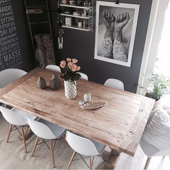 Diseños de mesas para comedores modernos | Diseños de mesas para ...
