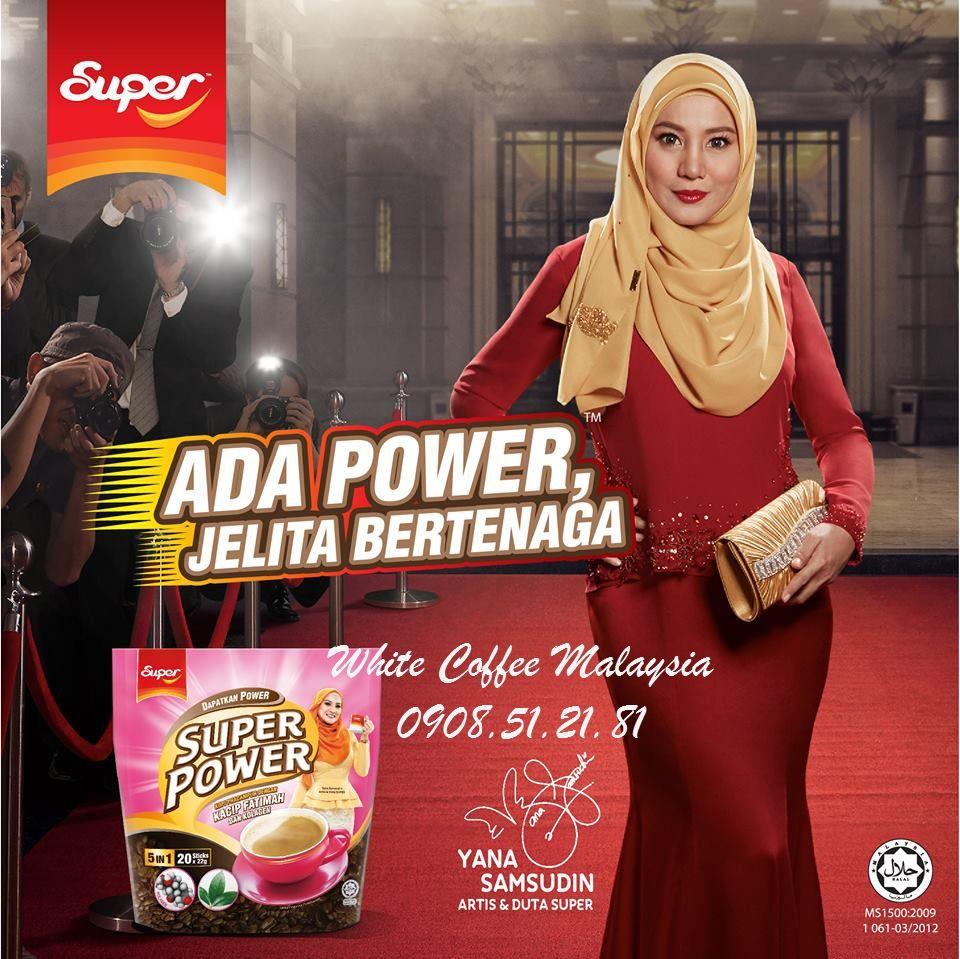 Cà phê Super Power 5in1 với Collagen và Kacip Fatimah 20