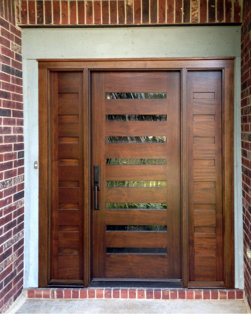 Modern Wood Door Gallery – The Front Door Company | Puertas ...