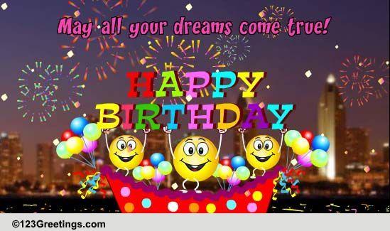 A Special Birthday Carnival Happy Birthday Pinterest