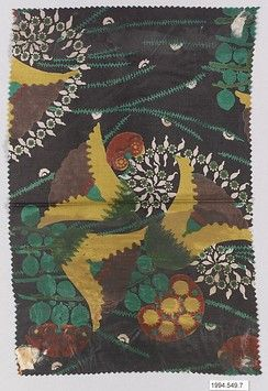 """""""Samtente"""" Textile Sample Lotte Frömel-Fochler (Austrian, born 1884) Manufacturer: Manufacturer Wiener Werkstätte Date: 1910–11 Medium: Silk Dimensions: H. 11, W. 7-1/4 inches"""