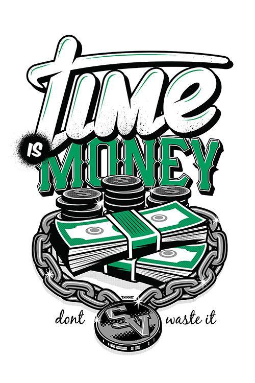 Time is Money by thinkd | Graffiti doodles, Graffiti ...