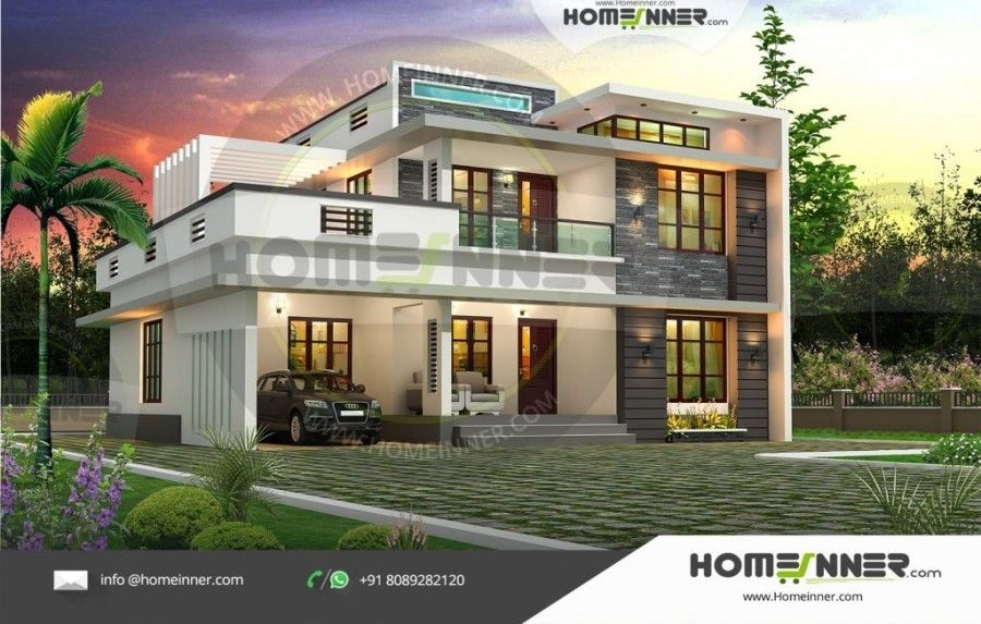 2400 sq ft 4BHK Luxury Home Design | Kerala house design ...