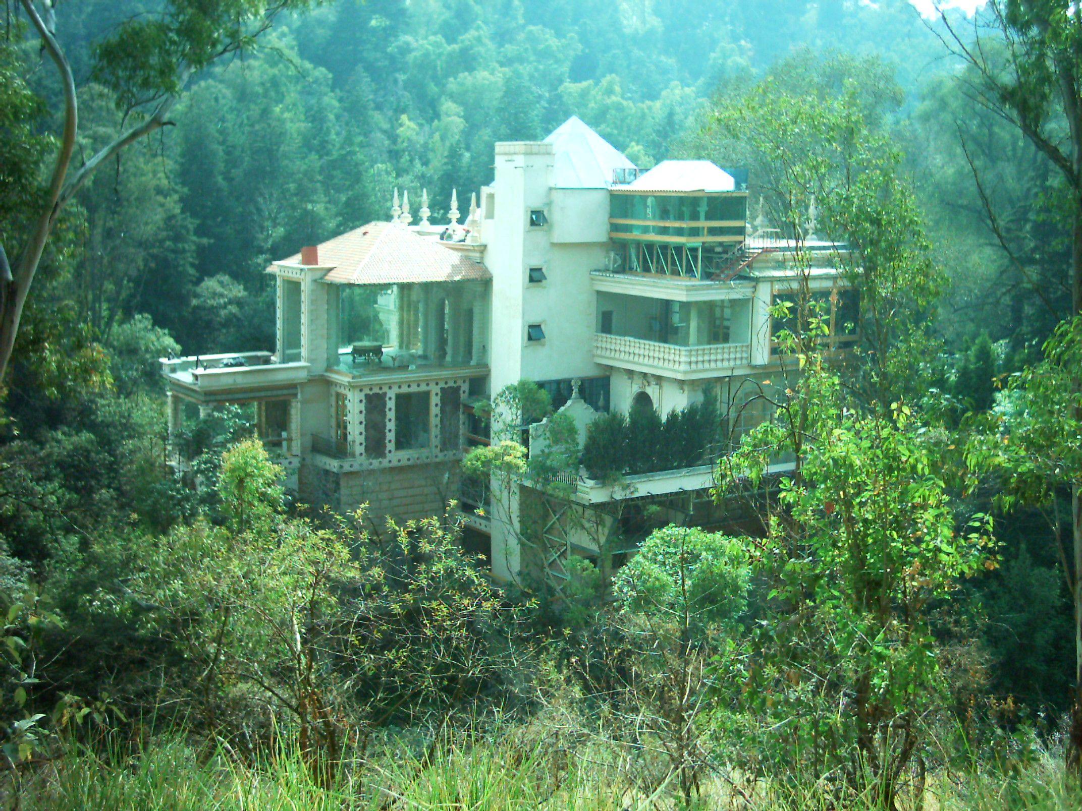 5. Una casa en Mexico escondida en el bosque de Chapultepec
