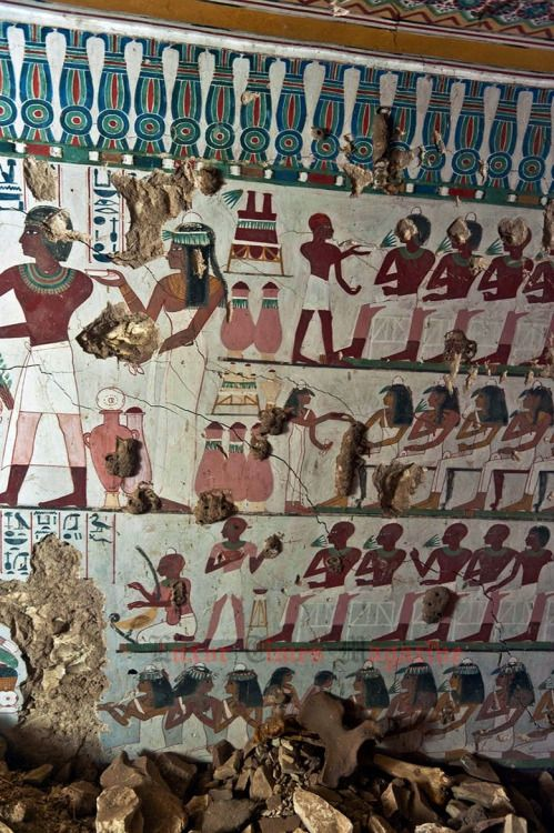"""The newly discovered tomb dated to New Kingdom, 18th Dynasty and it belongs to a person called """"Satmut"""""""