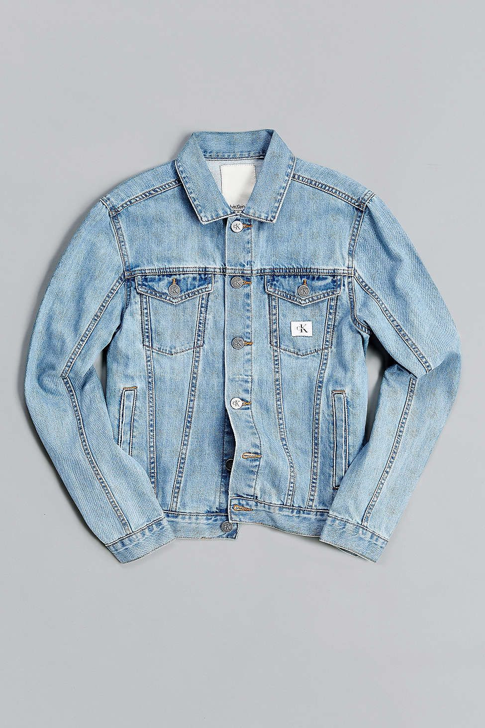 33356ad91c Calvin Klein X UO Re-Issue Denim Trucker Jacket