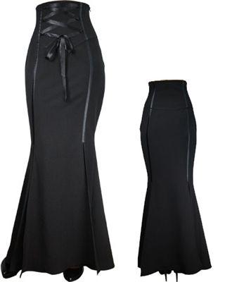Victorian High Waist Long Skirt for $35.95. Cuber Monday SALE! #steampunk #steampunkstyle #steampunkfashion #steampunkskirt #goth #gothicstyle #gothskirt #victorianskirt #victorianstyle #steampunk