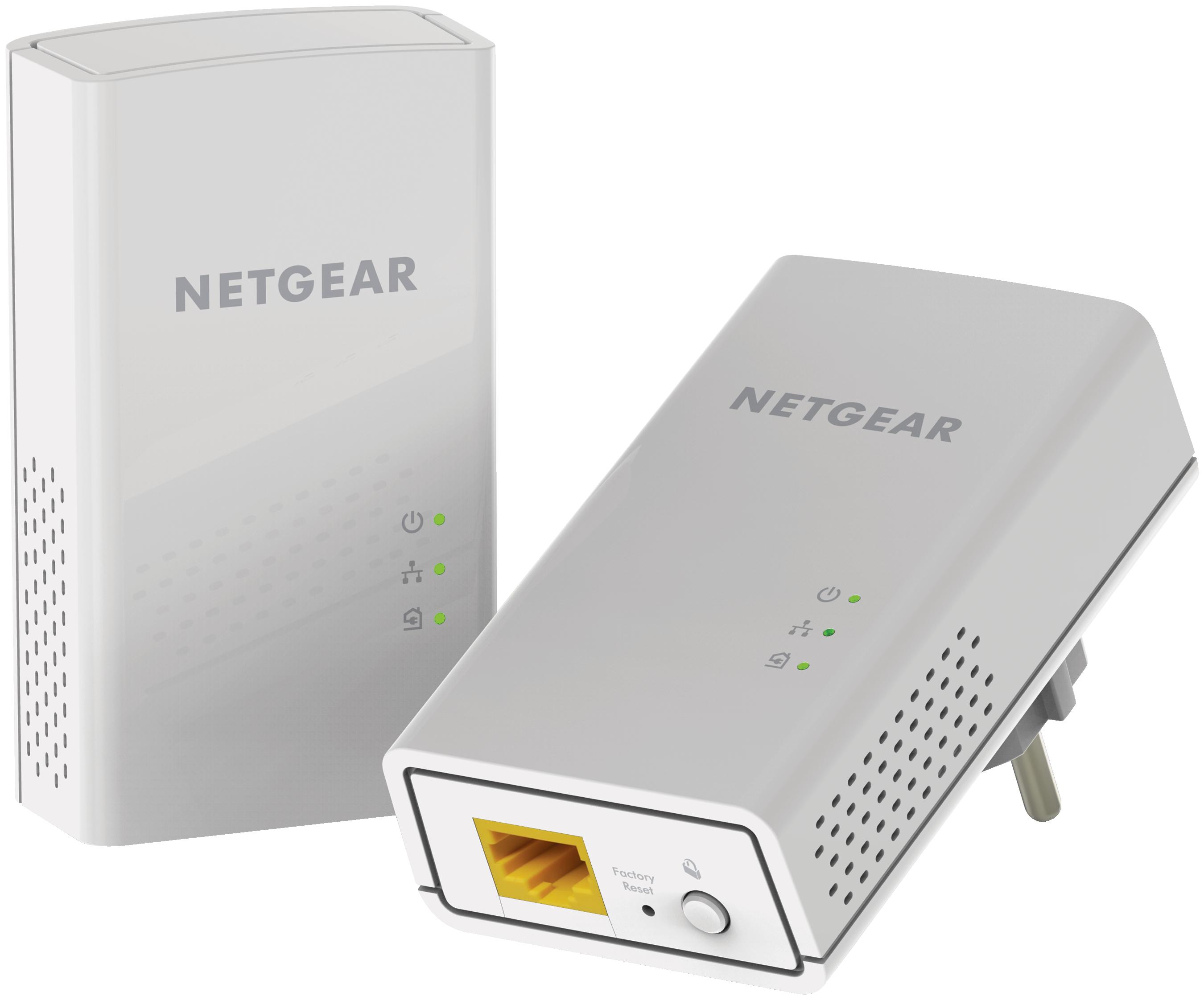 [CATALOGUE PRINTEMPS 2015] Connexion filaire Gigabit puissante Home Plug AV2 1200 Mbps 2 ports Gigabit Ethernet Parfait pour connecter des téléviseurs Smart TV, des lecteurs en streaming et des consoles de jeux Idéal pour le streaming vidéo HD en 4K et le jeu sans latence  Ajoutez jusqu'à 16 adaptateurs pour étendre votre réseau et jouer sans latence RÉF. PL1200-100PES http://www.exertisbanquemagnetique.fr/info-marque/netgear