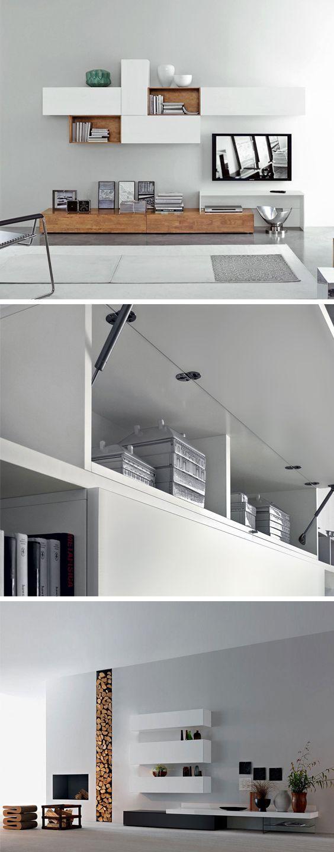 Design Hängeschrank Horizontal von Livitalia kann mit leichtem