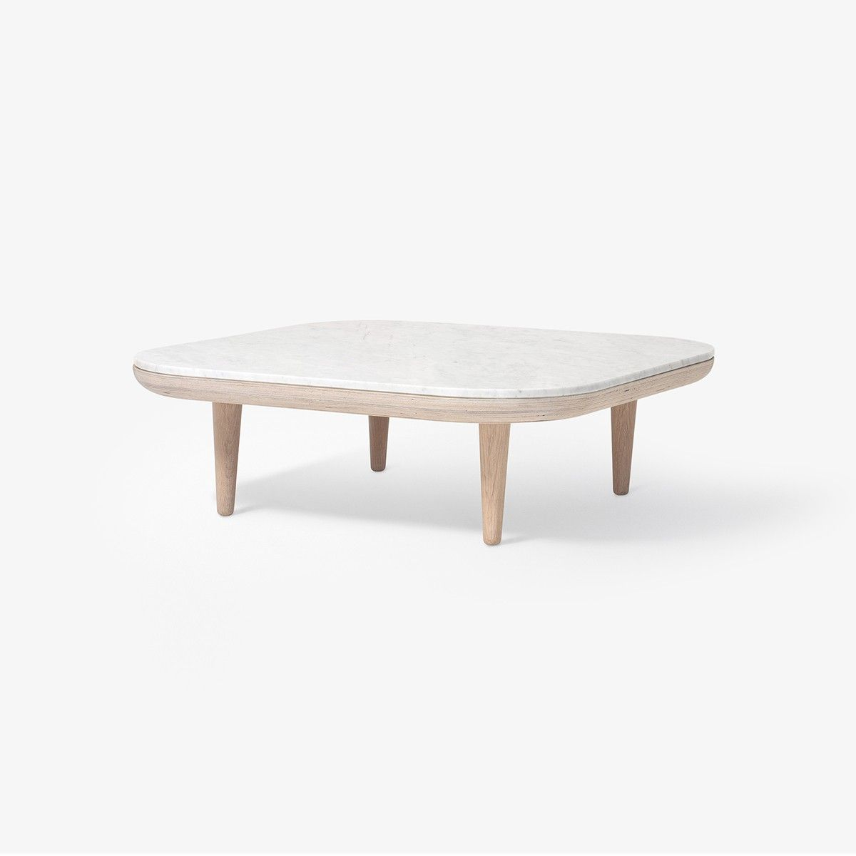 SC4 basse Tradition Blanc marbre Fly Table And QxtChdBsr