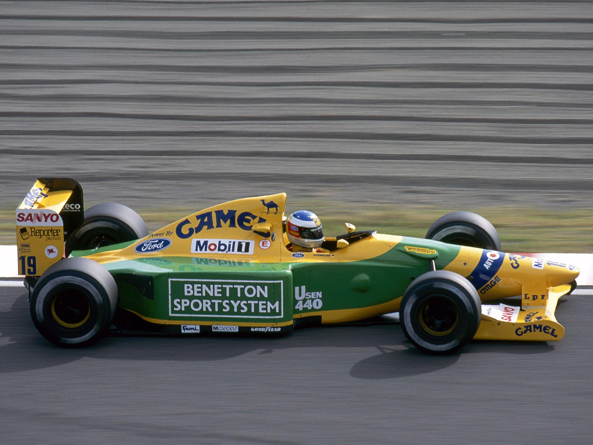 1992 Benetton B192 Michael Schumacher