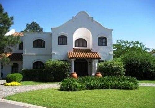 Casa quinta estilo colonial moderno casas pinterest for Casas estilo colonial mexicano moderno
