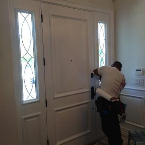 Wonderful Front Door Frosted Glass Film
