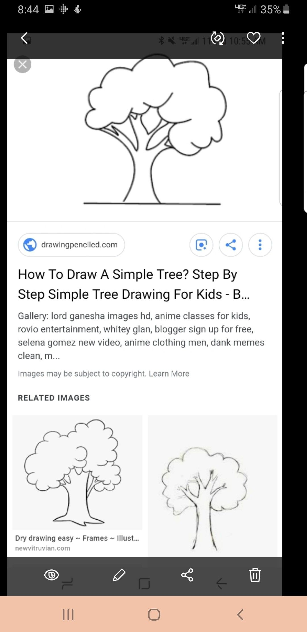 Pin By Michelle K On 0trees Tree Drawing For Kids Drawing For Kids Selena Gomez New Video