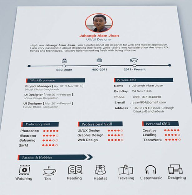 39 Fantastically Creative Resume and CV Examples Steven Snell - resume and cv examples