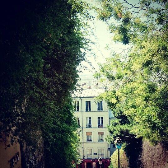 Paris, Montmartre view. By NikitaDB