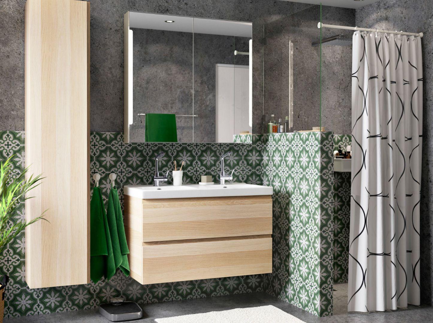 Mueble auxiliar a decoraci n home living arquitectura ba os ba o ikea y decoracion de ba os Ikea mueble auxiliar bano