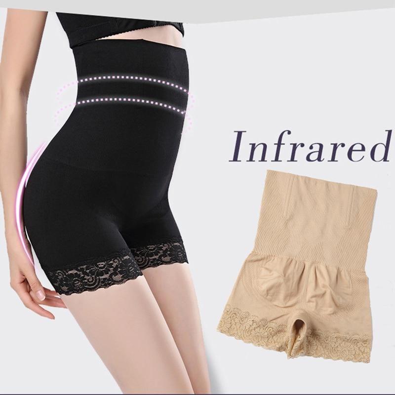 a20a43a7a2c Control Pants Women High Waist Body Shaper Panties seamless tummy Belly  Waist Slimming Shapewear