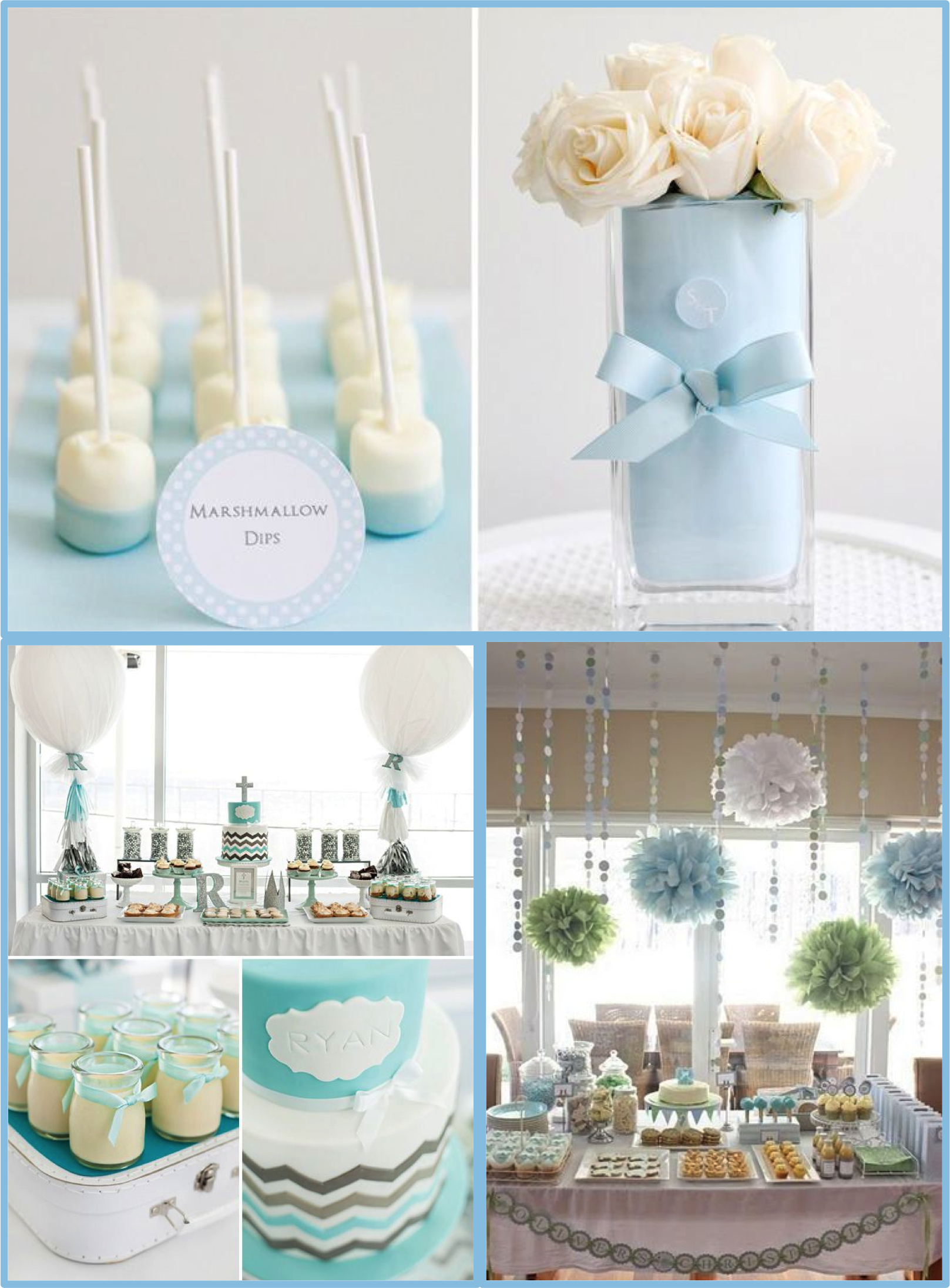 Taufeblue Christening Baptism Blue Boy Inspiration Ideas