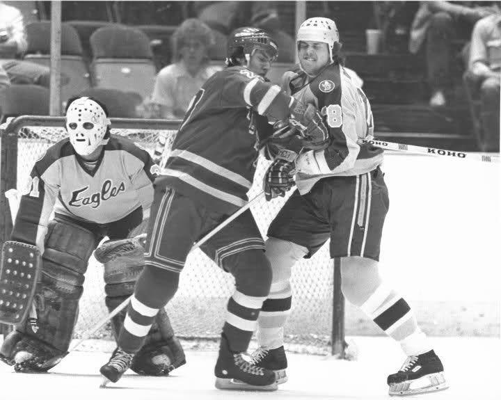salt lake golden eagles t shirt | Vintage Goalie Mask Discussion Page :: Vintage Mask Discussion :: Salt ...