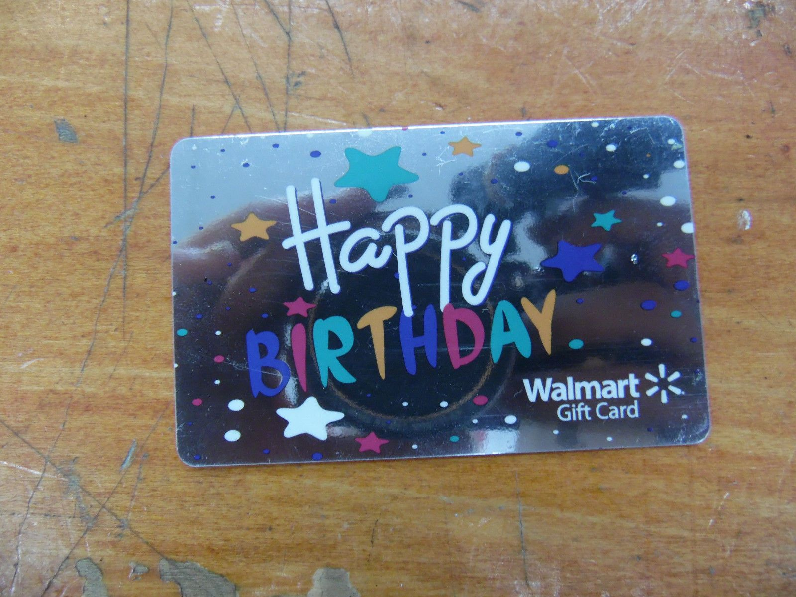 This Card Has 200 On It Walmart Birthday Happy Gift