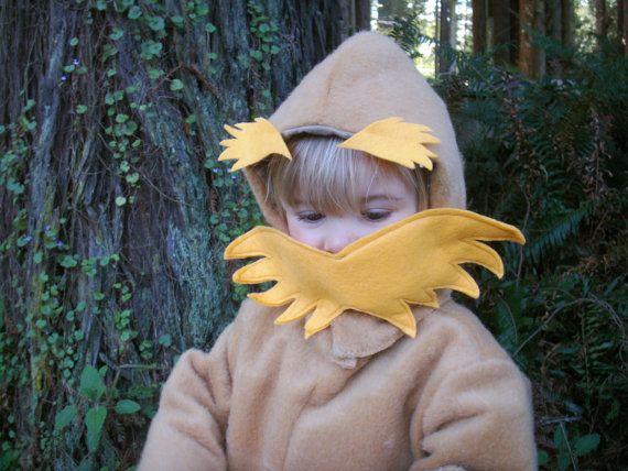 LORAX Halloween Costume Dr Seuss for kids age 14 by BooBahBlue - dr seuss halloween costume ideas