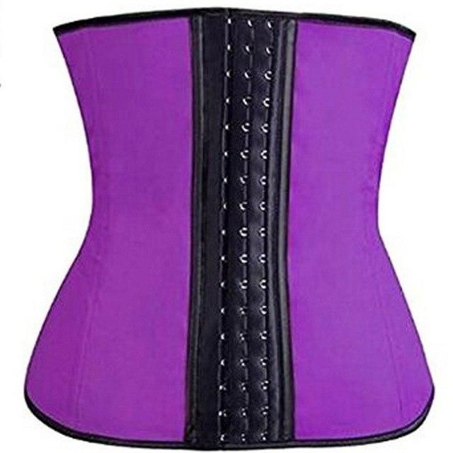 816d726d07 Hot Products Neoprene Waist Trainer Body Shaper Zipper Corsets Wrap Belt  Sauna Shapewear Slimming Vest Plus