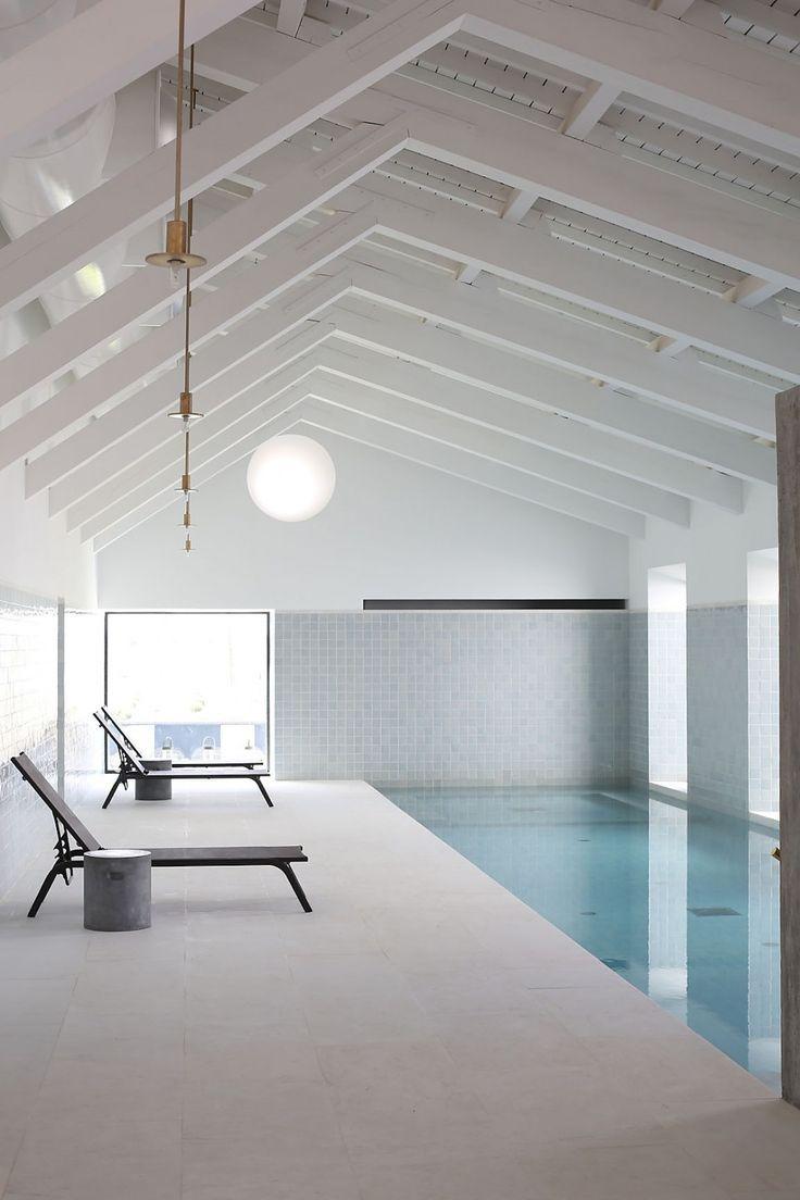 Indoor pool - Torre de Palma Hotel, Portugal by João Mendes Ribeiro