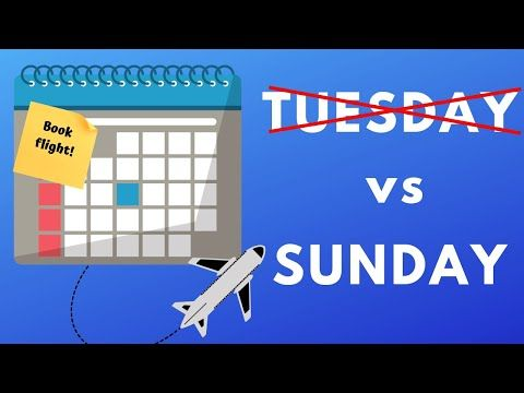 If you've always thought that Tuesday was the best day of the week to book a cheap flight, think
