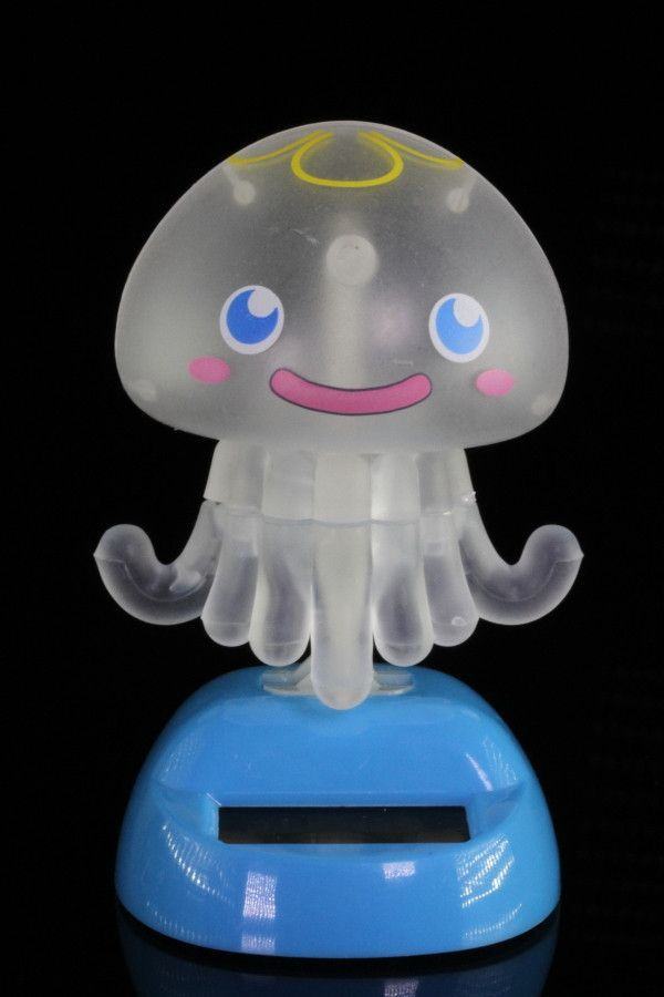 Solar Powered Dancing Blue Octopus Solar Dancing Toy NEW