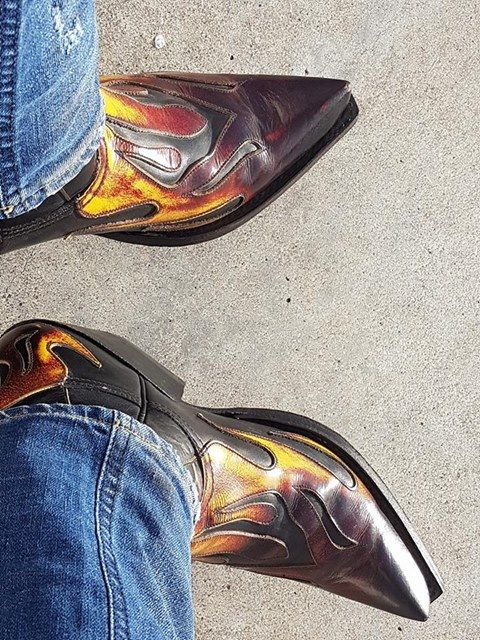 Tumblr Western Boots For Men Custom Cowboy Boots Cowgirl Boots