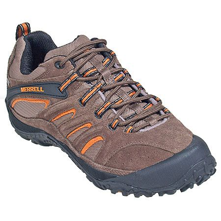 Merrell Shoes: J15055 Men's Gore-Tex Chocolate Hiking Shoes