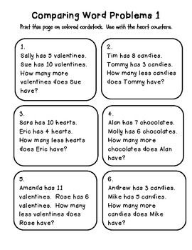 cc math word problems february edition comparing numbers math word problems math word. Black Bedroom Furniture Sets. Home Design Ideas
