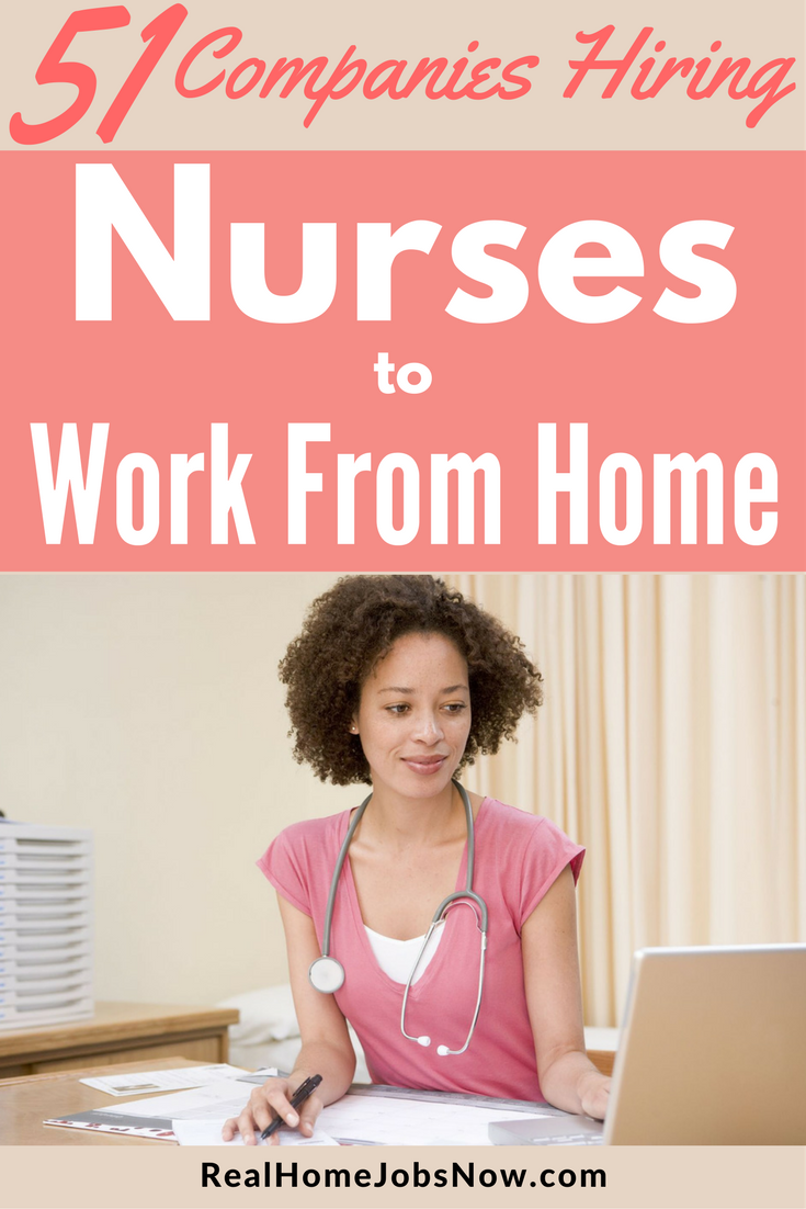 51 companies that offer work from home nursing jobs ultimate