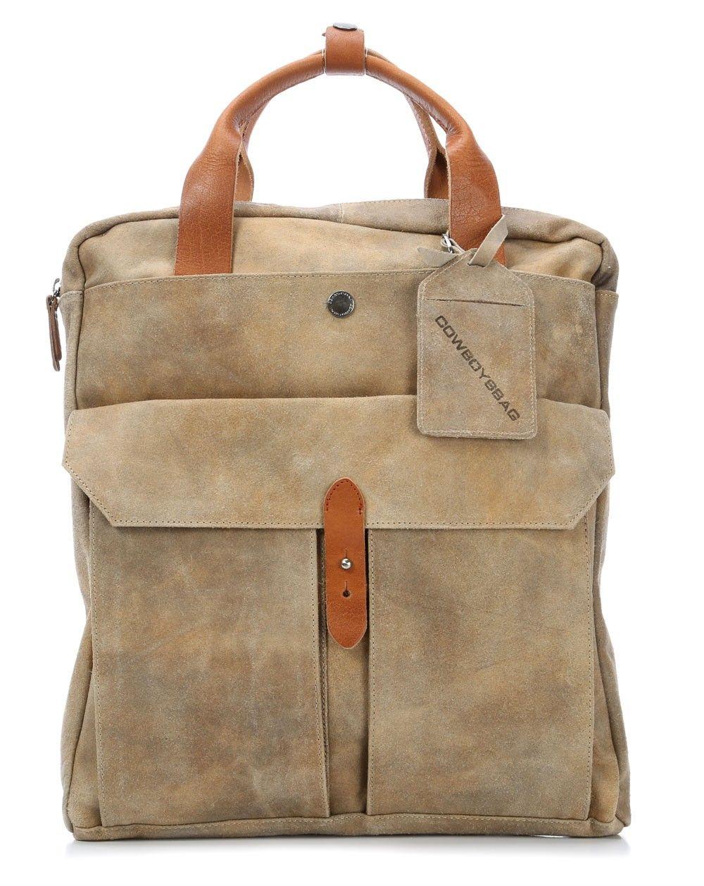 Cowboysbag spencer rucksack leder khaki 40 - Wardow handtaschen ...