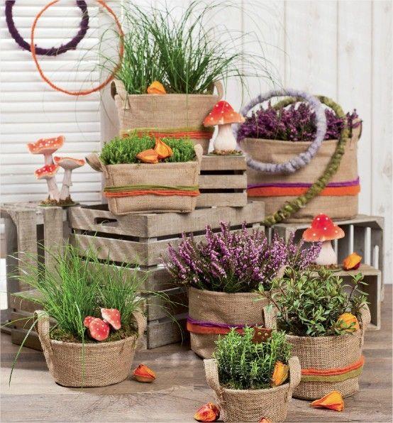 composition florale automne balcon pinterest compositions florales composition et automne. Black Bedroom Furniture Sets. Home Design Ideas