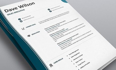 Groupon Resume 11 Designer Resume Templates 30Day Planner Template And Job Hunt