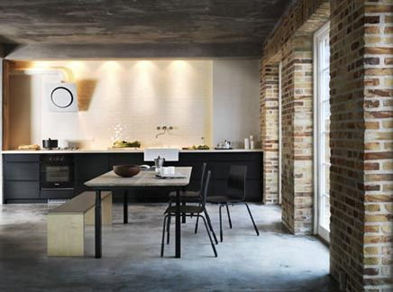 Black Industriele Keuken : Keukengalerij keller keukens