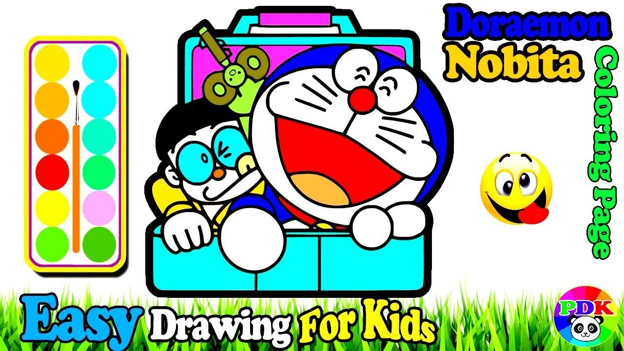 Today I M Going To Show You About Doraemon Nobita Coloring Fun Painting For Toddlers An Abc Coloring Pages Minion Coloring Pages Coloring Pages For Teenagers