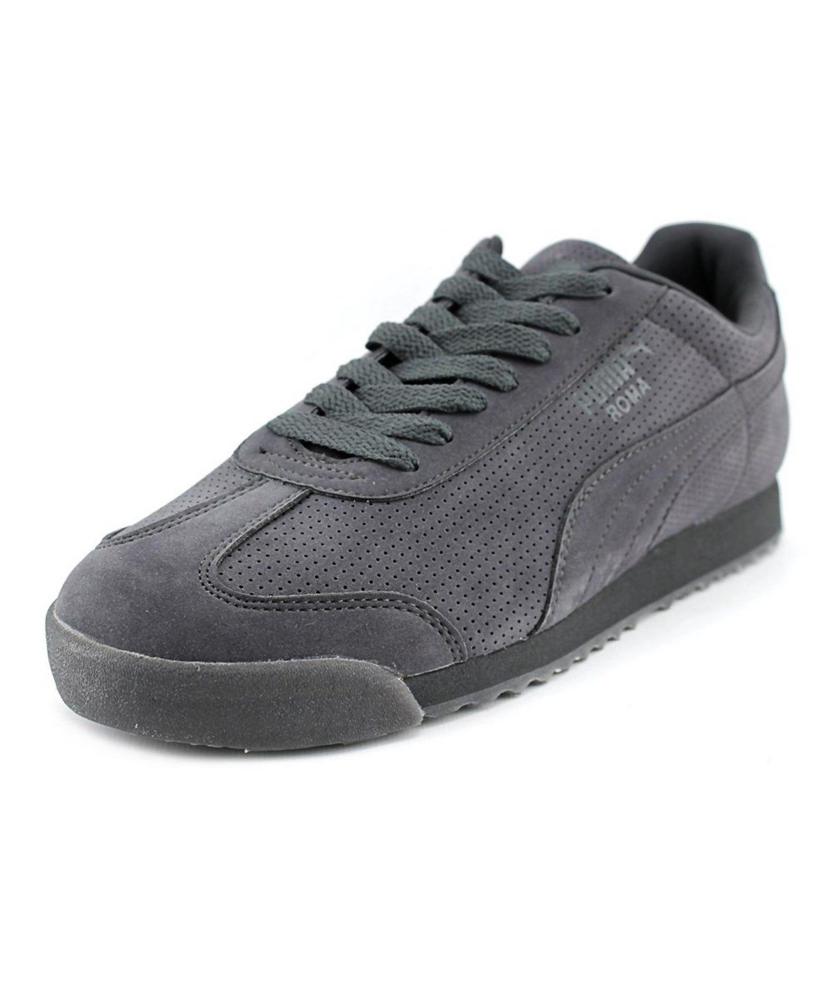 mens puma roma suede athletic shoe
